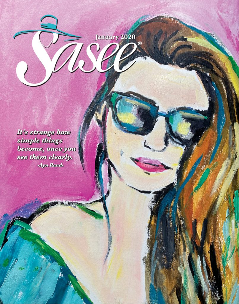 Sasee Cover for January 2020