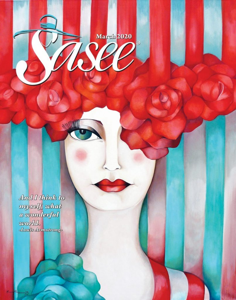 Sasee Cover for March 2020