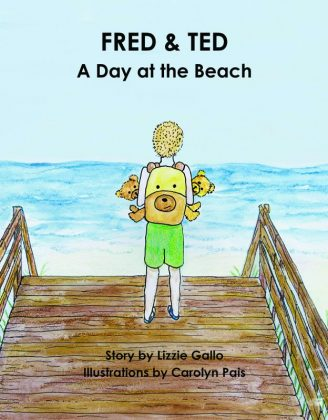 Cover of Fred and Ted: A Day at the Beach