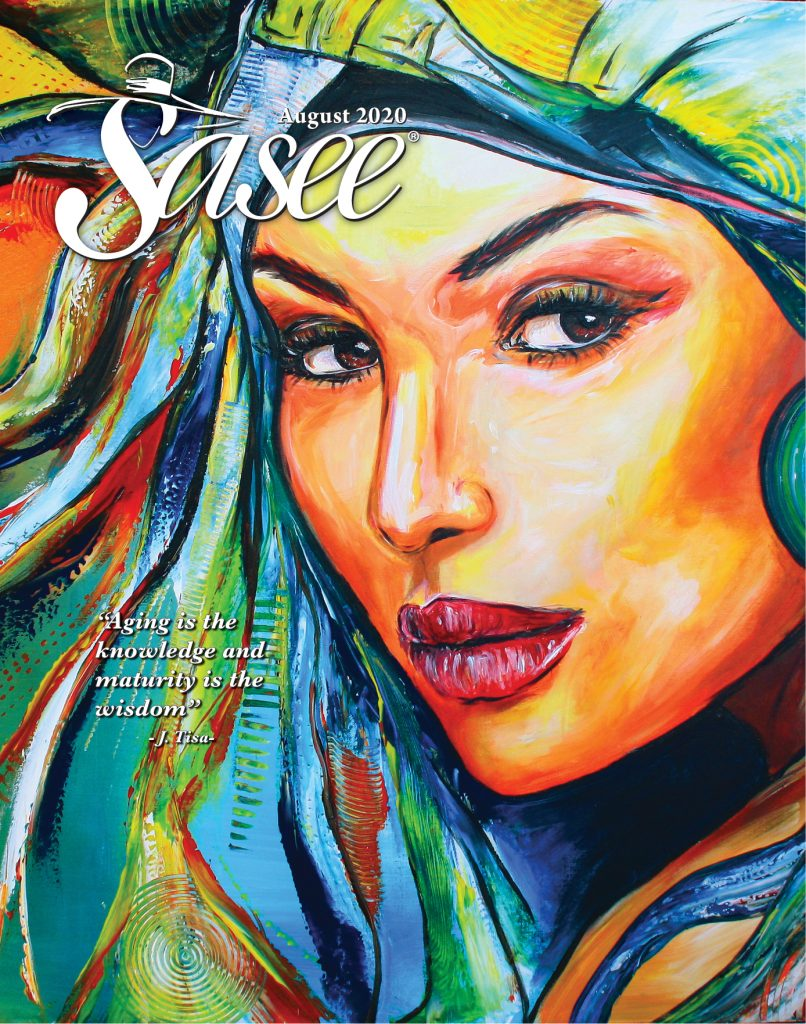 Sasee Cover for August 2020