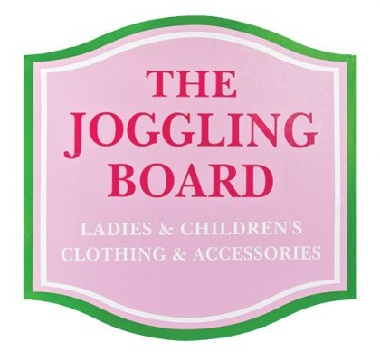 logo for The Joggling Board