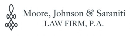 logo for Moore, Johnson & Saraniti Law Firm, P.A.