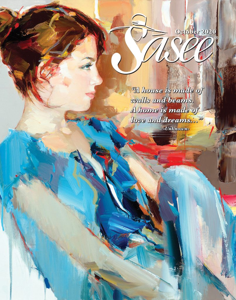 Sasee Cover for October 2020