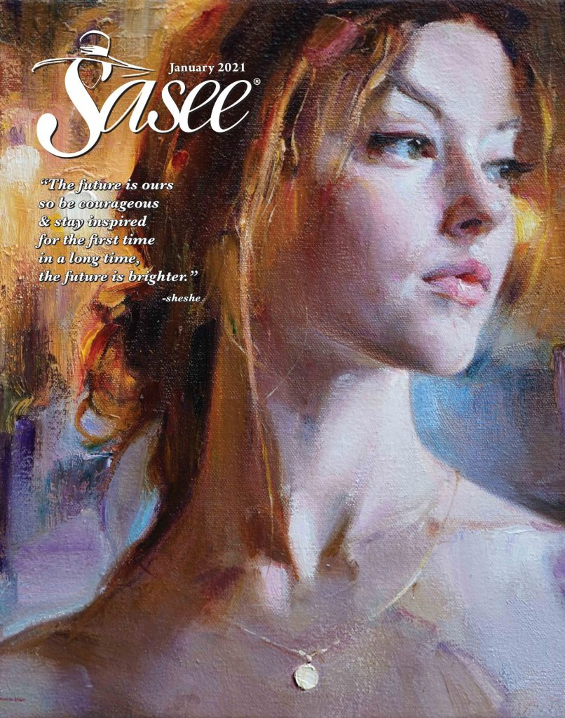 Sasee Cover for January 2021