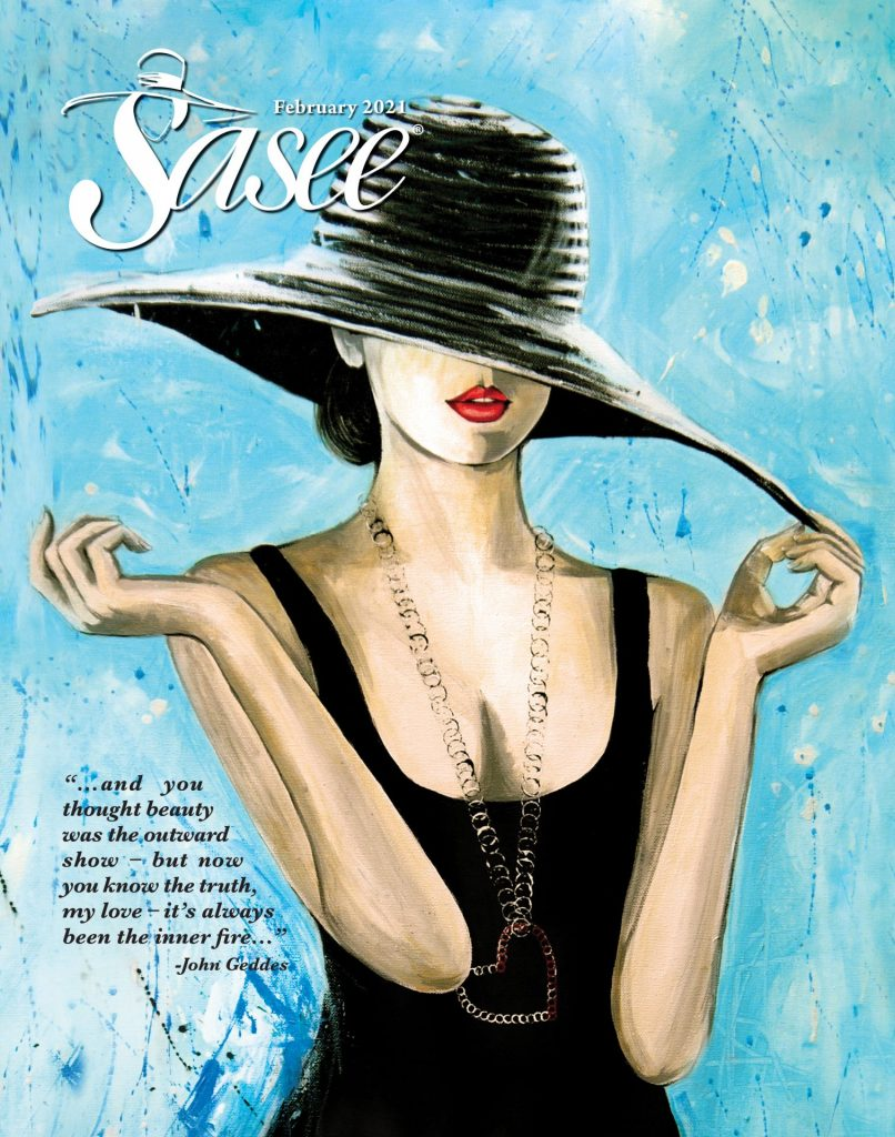 Sasee Cover for February 2021